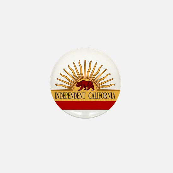 Independent California Mini Button