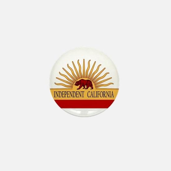 Independent California Mini Button