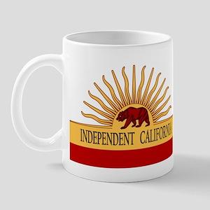 Independent California Mug