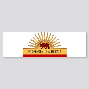 Independent California Bumper Sticker