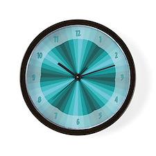Aqua Illusion Wall Clock