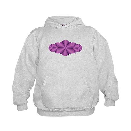 Purple Illusion Kids Hoodie