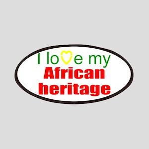 I love Africa Patch