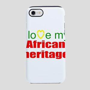 I love Africa iPhone 8/7 Tough Case