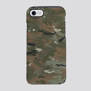 Camouflage: Mud Colors II iPhone 8/7 Tough Case