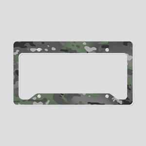Camouflage: Arctic Green and License Plate Holder