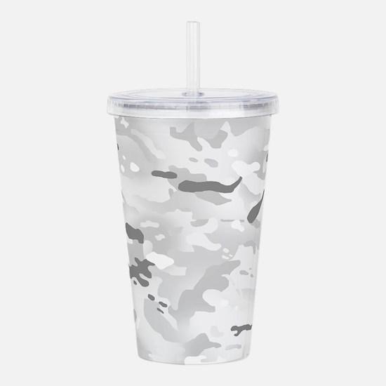 Camouflage: Alpine Acrylic Double-wall Tumbler