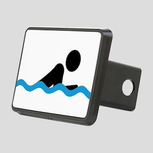 breaststroke Rectangular Hitch Cover