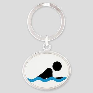 breaststroke Keychains