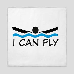 I can fly Queen Duvet