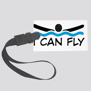 I can fly Large Luggage Tag
