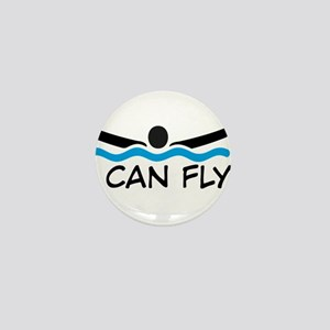 I can fly Mini Button
