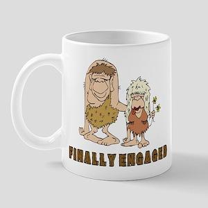Finally Engaged Mug