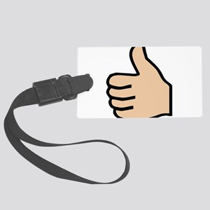 thumbs up Large Luggage Tag