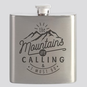 The Mountains Are Calling & I Must Go Flask