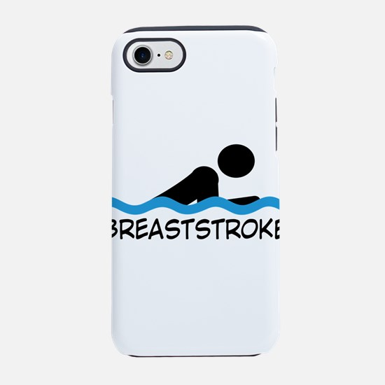 breaststroke iPhone 8/7 Tough Case