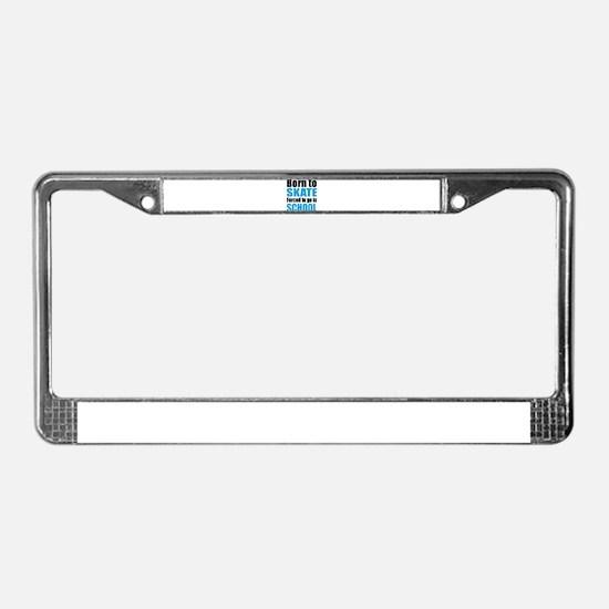 skateboard License Plate Frame