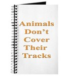Animals Don't Cover Their Tra Journal