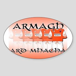 Armagh - Ard Mhacha Oval Sticker