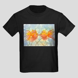 Kissing Fish Kids Dark T-Shirt