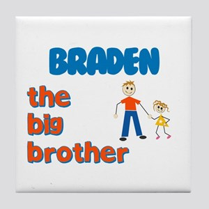 Braden - The Big Brother Tile Coaster