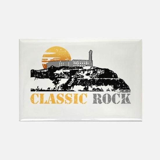 Classic Rock Rectangle Magnet