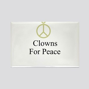 Clowns Rectangle Magnet