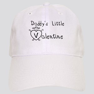 Daddy's Valentine (girl) Cap