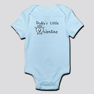 Daddy's Valentine (girl) Infant Bodysuit
