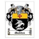 Madden Family Crest Small Poster