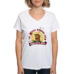 Crapper Creek Women's V-Neck T-Shirt