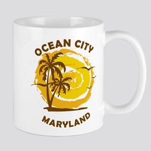 Summer ocean city- maryland Mugs