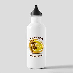 Summer ocean city- mar Stainless Water Bottle 1.0L