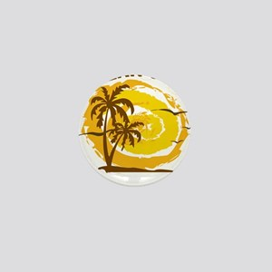 Summer ocean city- maryland Mini Button