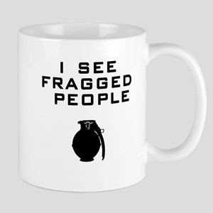 I see fragged people v2 Mugs