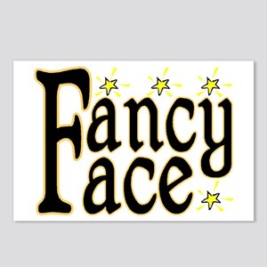 Fancy Face Postcards (Package of 8)