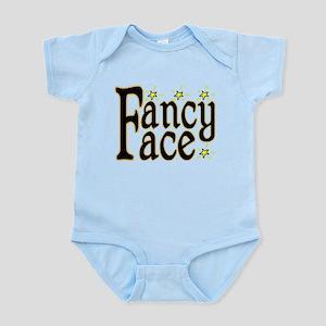 Fancy Face Infant Bodysuit