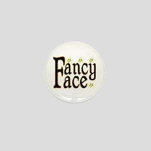 Fancy Face Mini Button