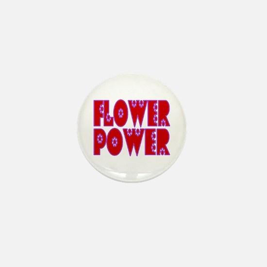 Flower Power Mini Button