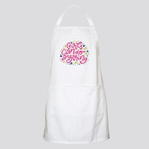 GIRLS CAN DO ANYTHING Light Apron