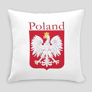 Poland White Eagle Everyday Pillow