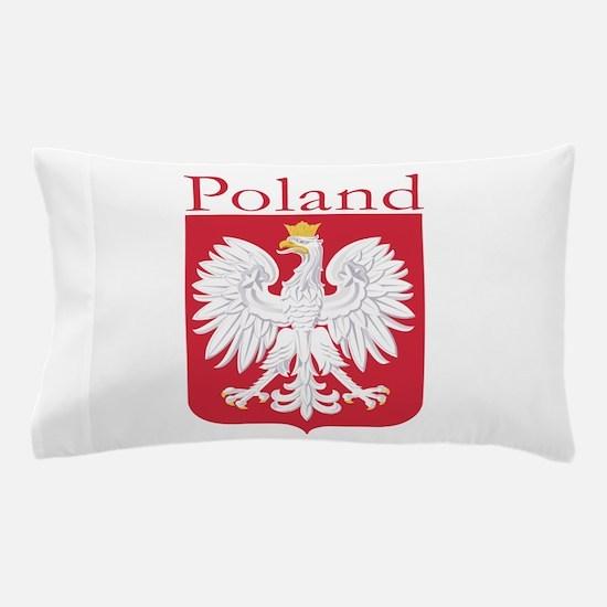 Poland White Eagle Pillow Case