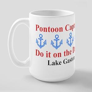 Pontoon Captains Large Mug