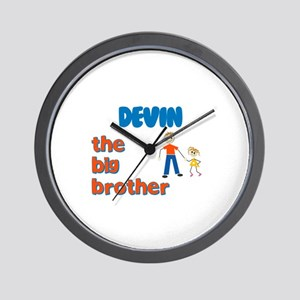 Devin - The Big Brother Wall Clock