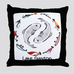 Yin & the Yang Throw Pillow