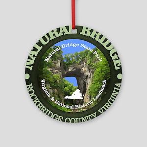 Natural Bridge Round Ornament