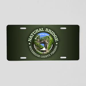 Natural Bridge Aluminum License Plate