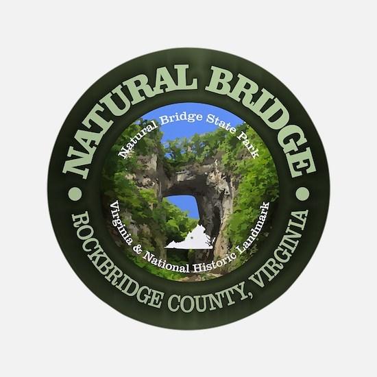"Natural Bridge 3.5"" Button"