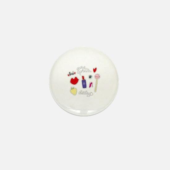 Girl Power Mini Button