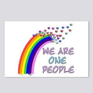 We Are One People Postcards (Package of 8)